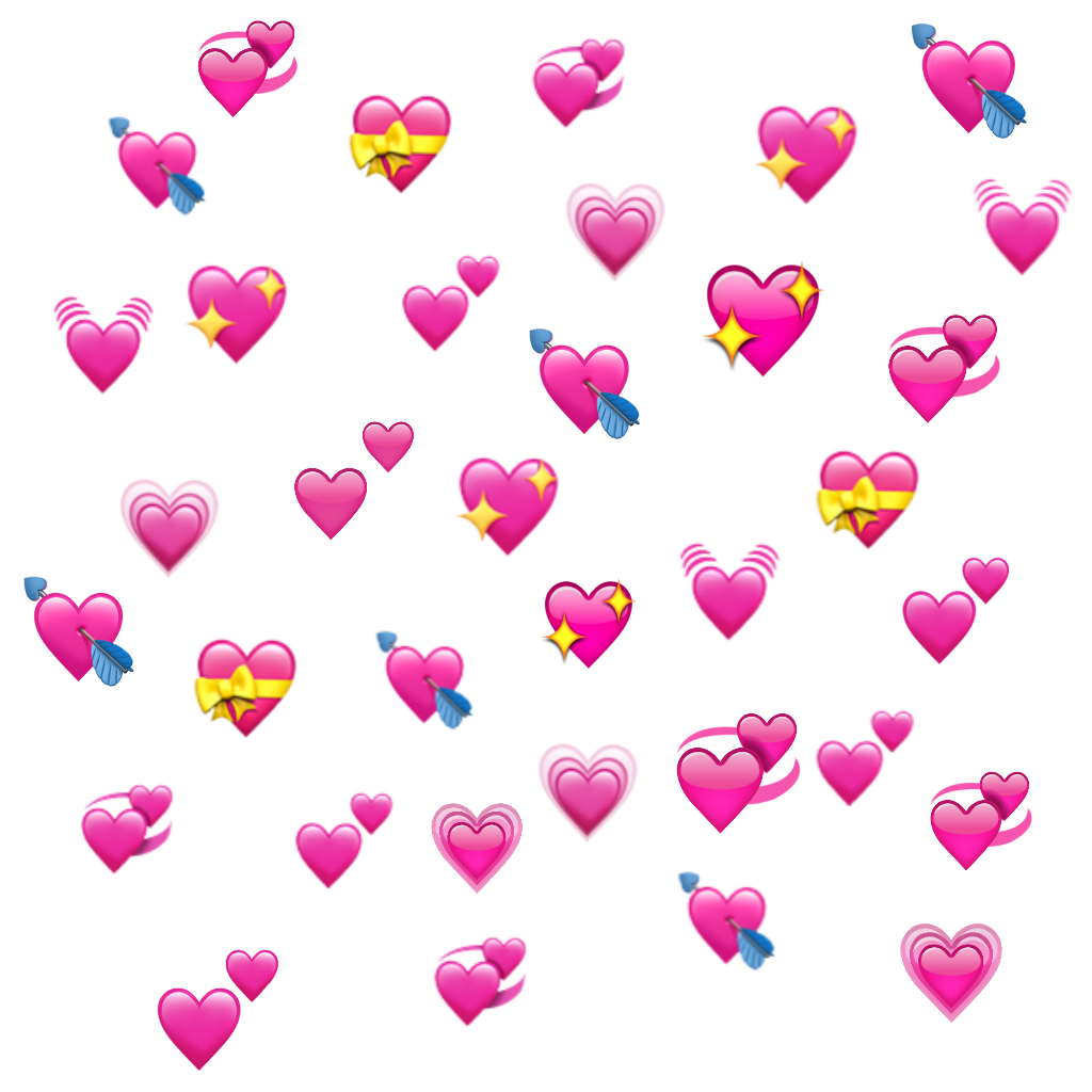 hearts heart emoji emojis heartemoji edit edits