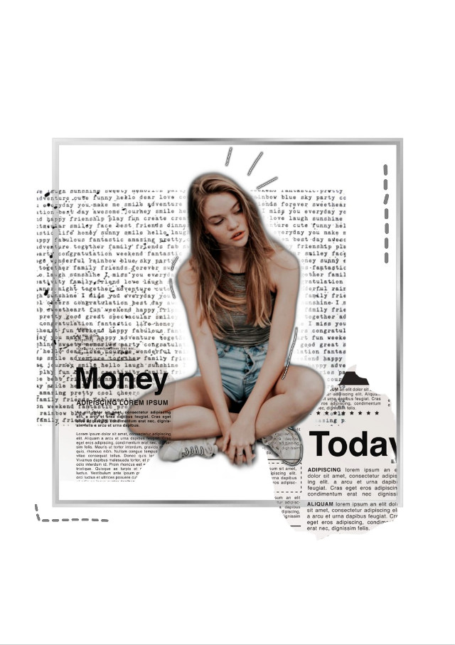 #freetoedit #remixit #girl #journal #blackandwhite #shoes #letters #money #today #lines #brilliant