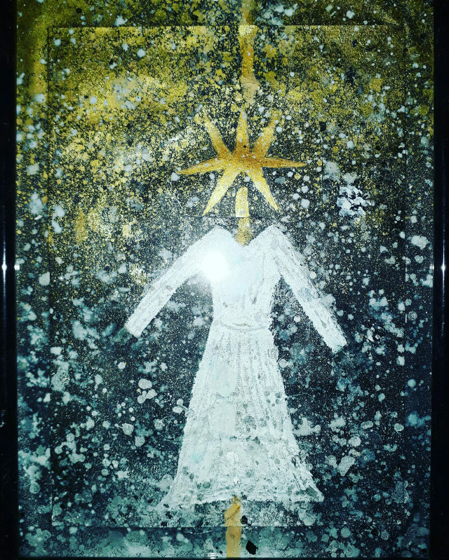 #freetoedit #dress #star #spirituality #alchemy #art #robe #acrylic #gold #or #black #painter #painting #mixedmedia #silver #argent #golden #artistic #painted #paintings #glitter #shine #modernartist #contemporaryart #contemporaryartist #artiste #artmoderne #artgallery #artexhibition #framedart #modernart