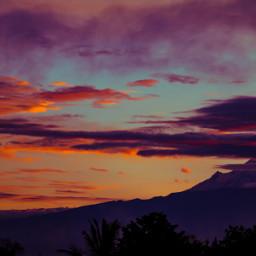 popocatepetl popocatepetlvolcano volcan sunset melancholic pcnaturephotography