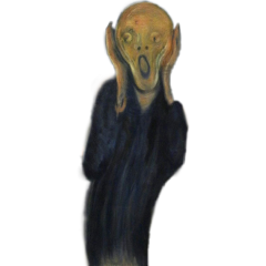thescream edwardmunch painting fineartfriday freetoedit