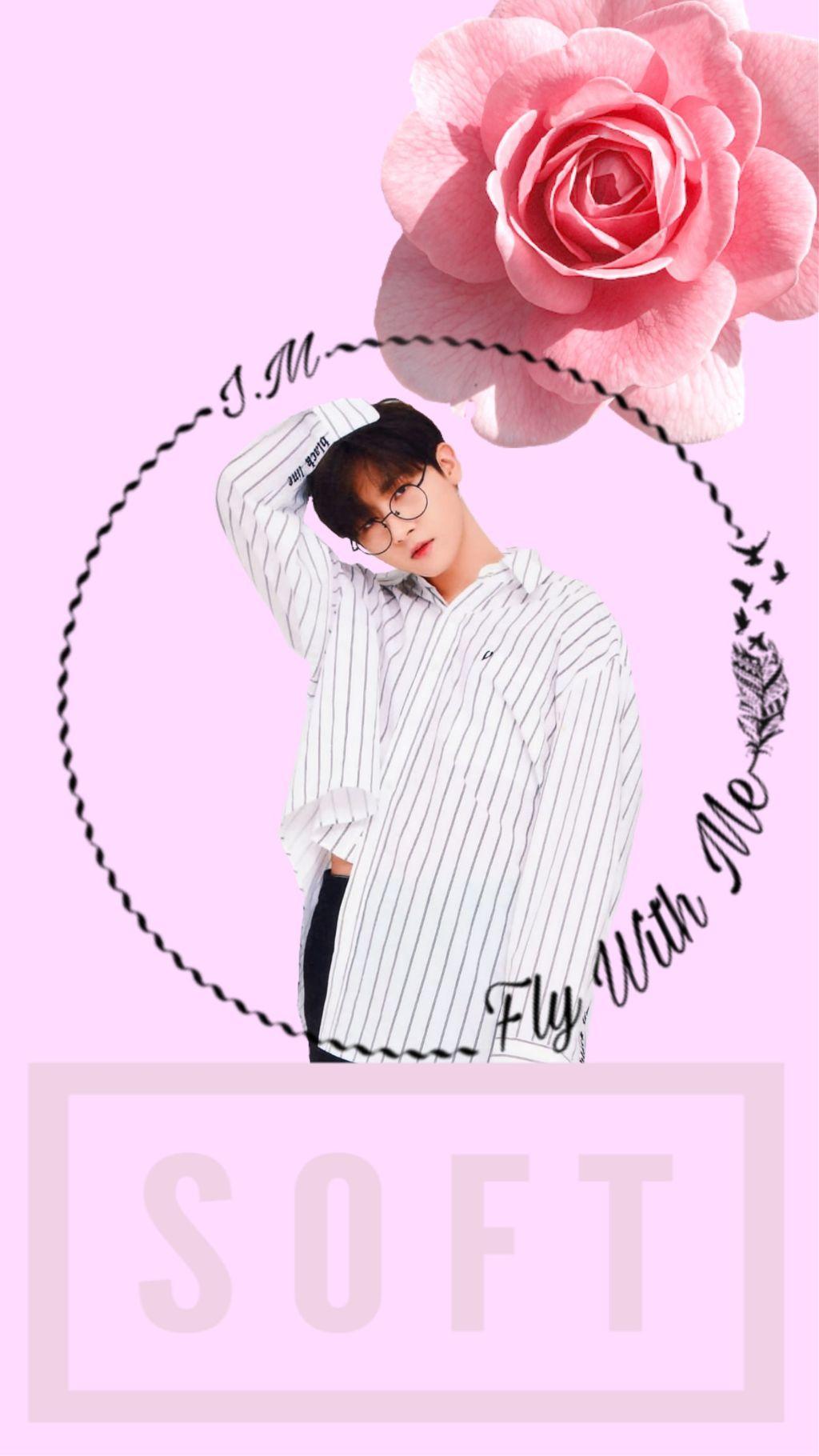 Im Changkyun Monstax Kpop Wallpaper Pink