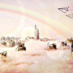 freetoedit aesthetic city pink ircmodernity