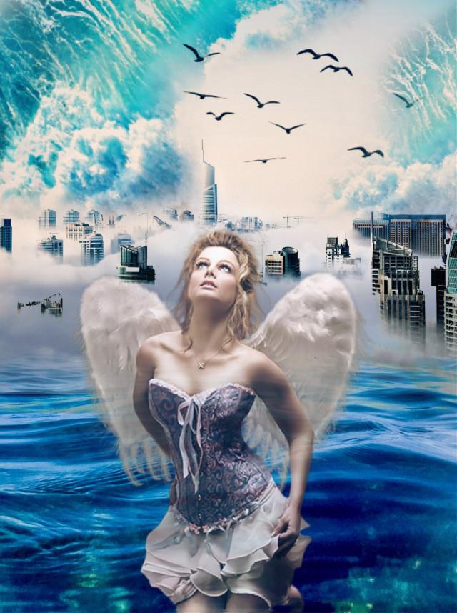 #mujerangel #azul💙