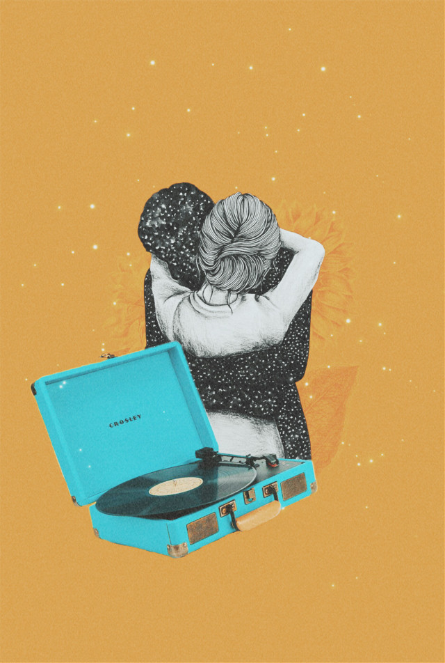 Stay with me #freetoedit #collage #collageartist #love #retro #music