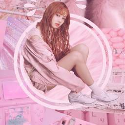 freetoedit lisa blackpink lalisamanoban pink pinkgirl pinkedit kpop k kpopedit cutegirl girl badgirl love pinkcolor