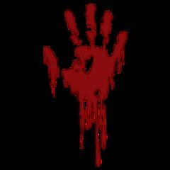 blood handprint dna freetoedit