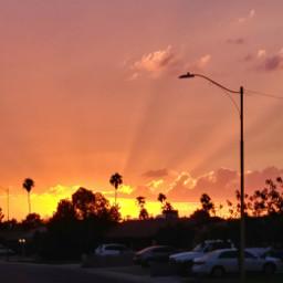 freetoedit sunset sky beautiful colorfulsky picture