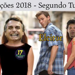 freetoedit bolsonaro haddad pt eleicoes2018 ircdistractedboyfriend