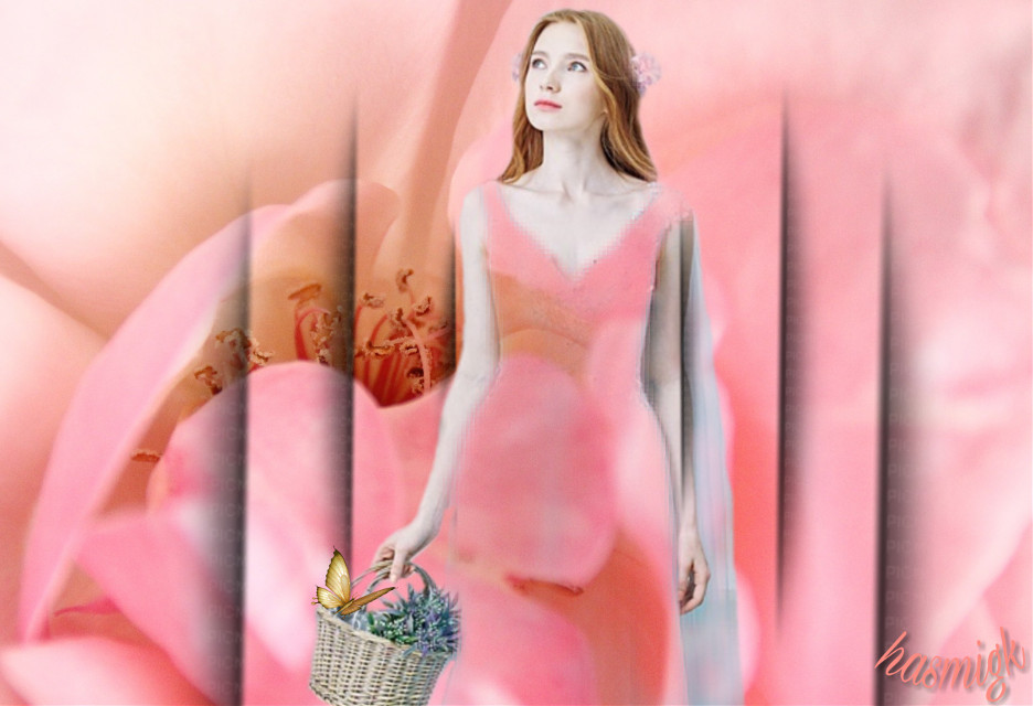 #freetoedit #woman #people #flower #butterfly #frame #pink #picsart #editedwithpicsart Thank you @thingsthatihaveseen for your beautiful picture.