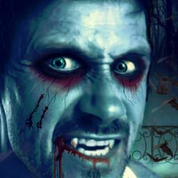 freetoedit helloween creepy vampire blood