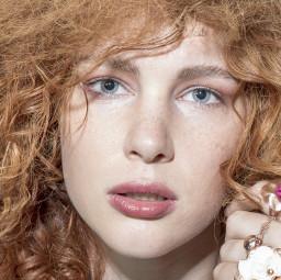 freetoedit femme ruiva cabelo cachos