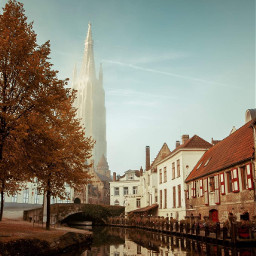 freetoedit brugge belgium2018 cityscape church