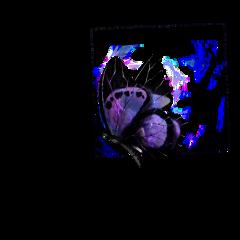 freetoedit ftestickers galacticbutterfly galaxy butterfly op