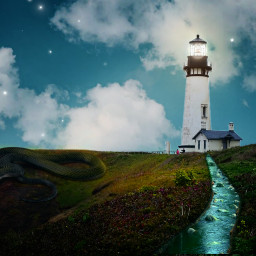 freetoedit vipshoutout lighthouseday lighthouse lensflare