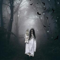 freetoedit spooky halloween2018 darknight
