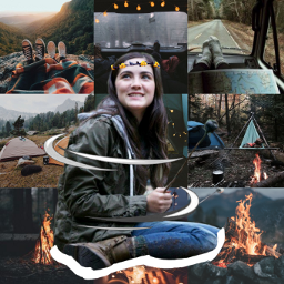 isabellefuhrman camping aesthetic freetoedit