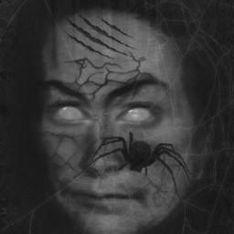 editbyme imagination photomanipulation blackandwhite darkness scary
