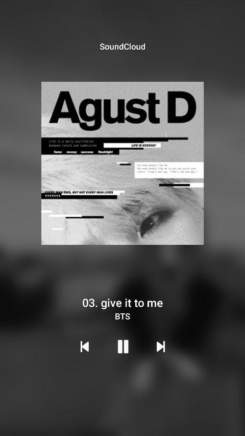 Agust d soundcloud