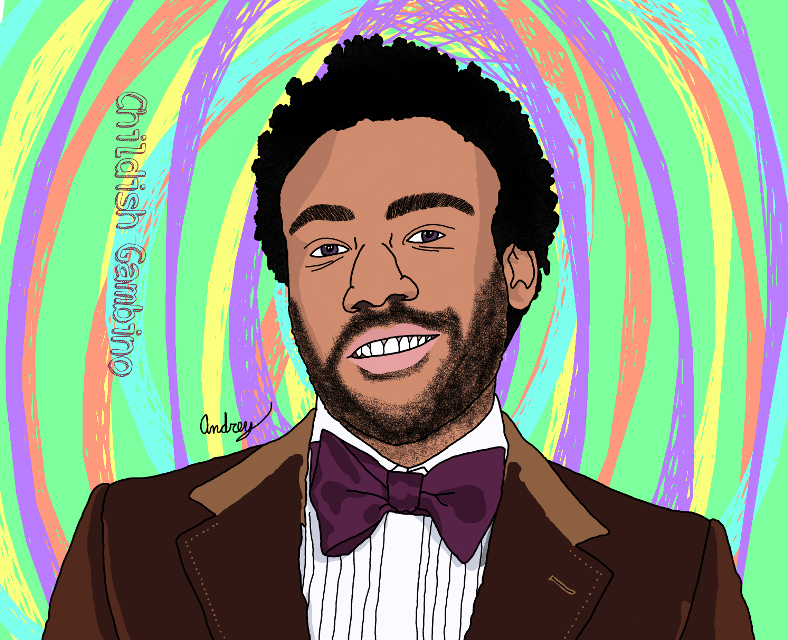 Drawing of Donald Glover/ Childish Gambino.    #AC_DIGITAL_ART  #art #freetoedit #drawing #painting #portrait #people #guy #artist #picsart #picsartedit #donaldglover