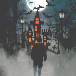 freetoedit spooky hunted fog smoke ircintothehauntedforest