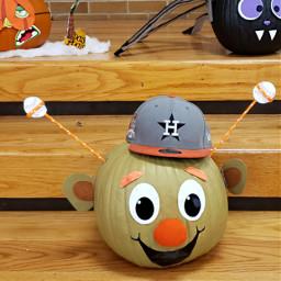 pumkins paint happy sports baseball pcpumpkin freetoedit
