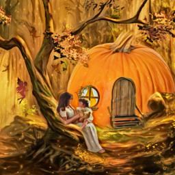 freetoedit fantasyart fantasy makebelieve imagination irctheperfectpumpkin