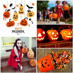 orange black happyhalloween halloween cchalloweenmoodboard