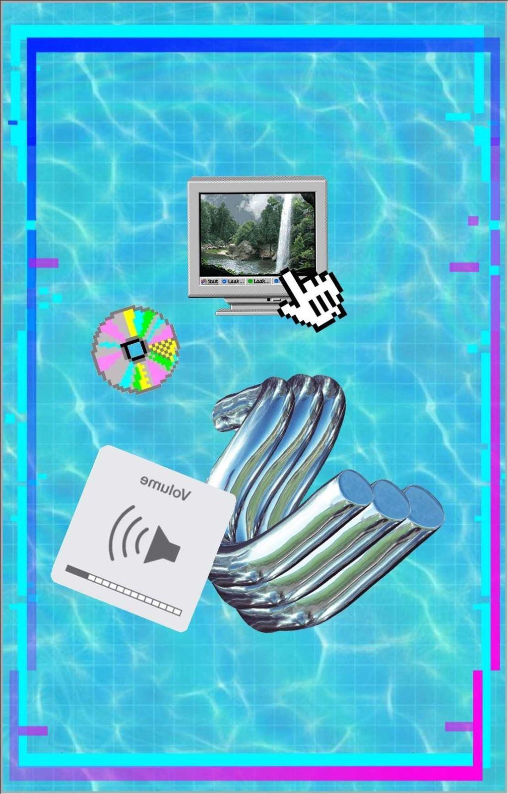 905492a745660  freetoedit  vaporwave  vaporwavecrew  webpunk  aesthetic  windows98   windows95  sadboys