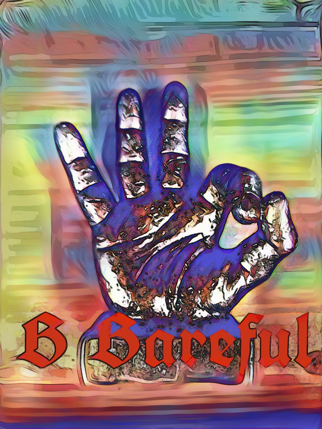 #BeBareful