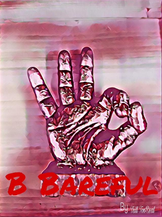 #BeBarfull