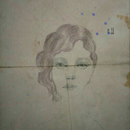 drawing sketch papereffect vintage