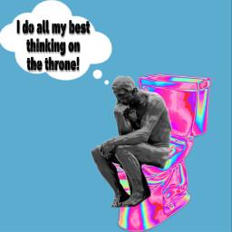 freetoedit toilet toilethumuour fineartfriday fineart ircfineartfridayar