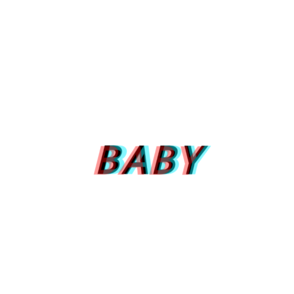 Glitch baby tumblr tumbler tumblrsticker stickers sticker