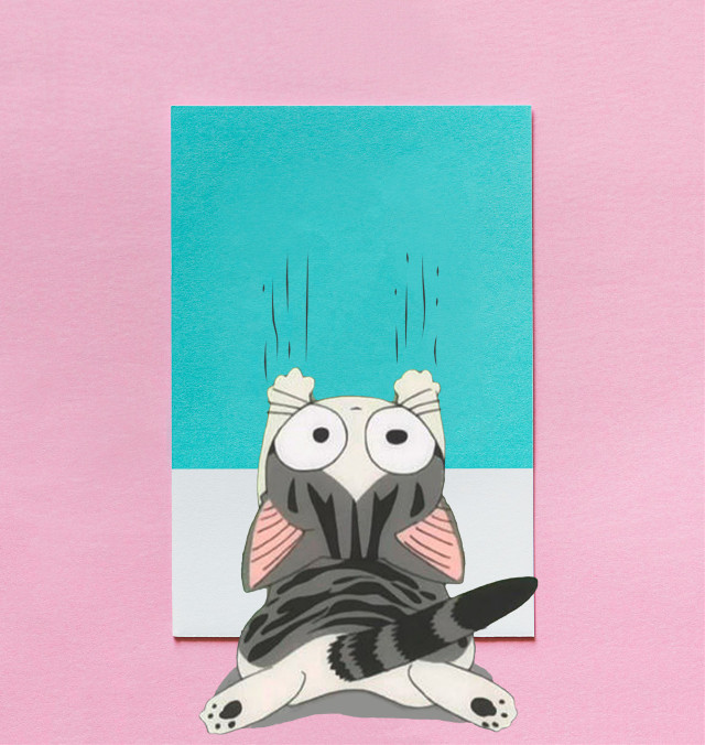 #freetoedit #dailyremixmechallenge #pantone #creativeedit #cute #cat #kitten #scratches #keepitsimple #myedit #madewithpicsart