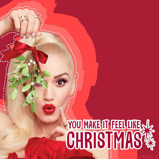 #freetoedit #gwen #gwenstefani #edit #christmas #christmasedit #like4like