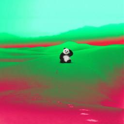freetoedit creative picsart @picsart myedited panda