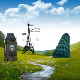 freetoedit sights france italy england