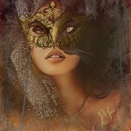 freetoedit jmacremix masquerade frost bizarre