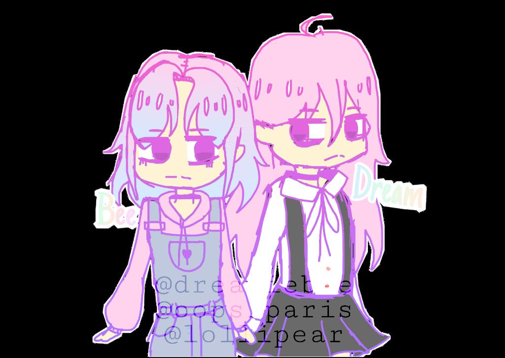 Aesthetic cute drawing Peach Drawing Sticker Gfycat Drawing Art Oc Chibi Anime Pastel Aesthetic Cute Kawaii