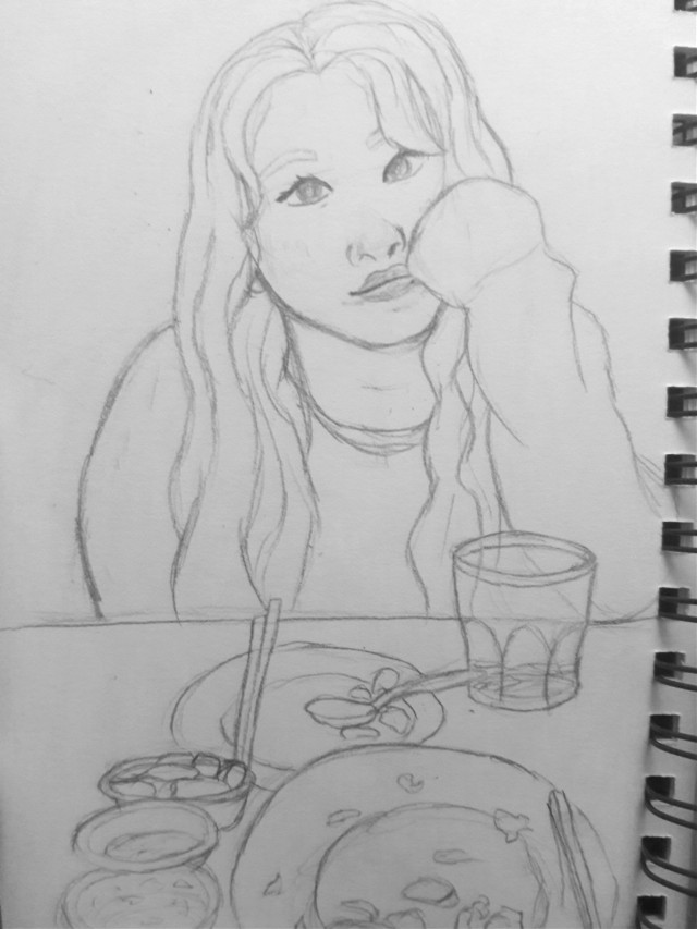 Wow actually imagine going on a date with this cutie😍 My art is trash but chaeyoung is cute so it's fine   #freetoedit #kpopfanart #kpop #art #drawing #myart #mydrawing #fanart #twice #chaeyoung