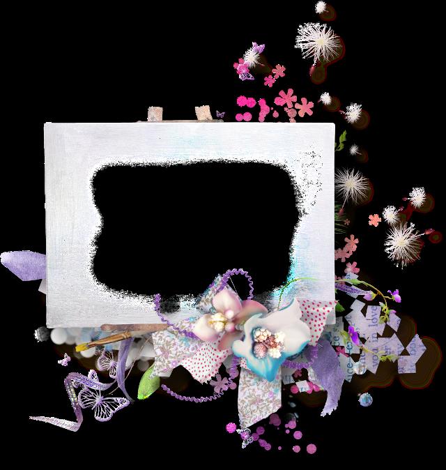 #ftestickers #frame #borders #flowers #white