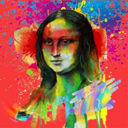freetoedit painting monalisa