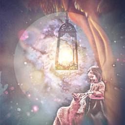 freetoedit vipshoutout magical fantasy lantern