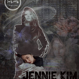 freetoedit jennie blackpink jenniekim kpop kpopedit aesthetic idol pretty creative dark kpopidol