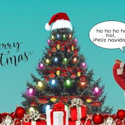 freetoedit navidad hohoho santaclaus arboldenavidad ircchristmastree