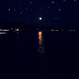 freetoedit night sea blacksea summer