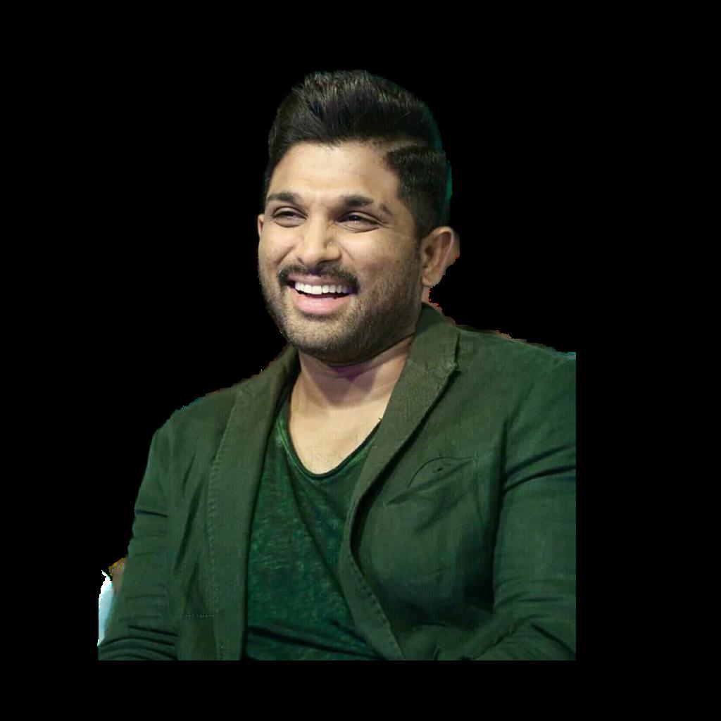 #alluarjun smile sticker