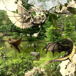 freetoedit dragon garden