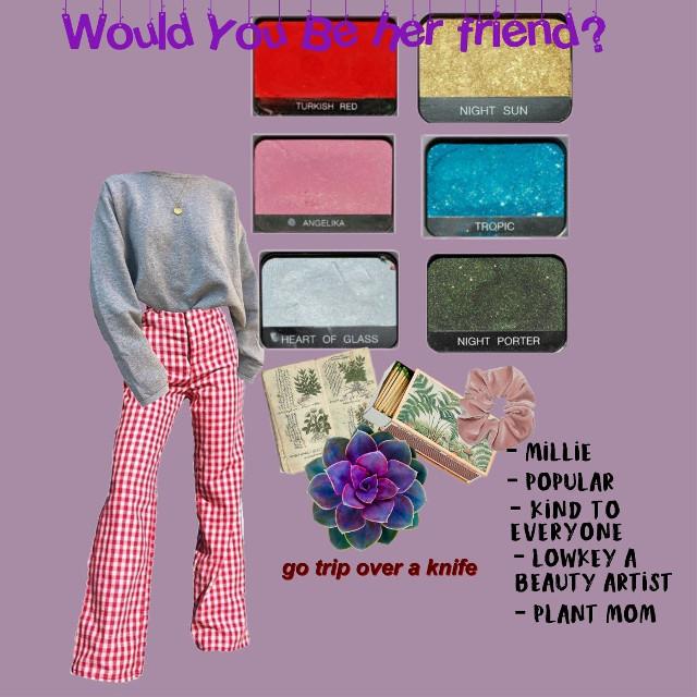 Would you be her friend? <33  #freetoedit #niche #nichememes